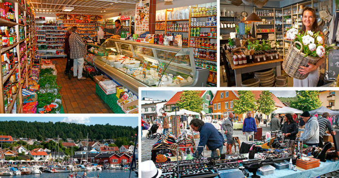 Drøbak, an exciting shopping town!