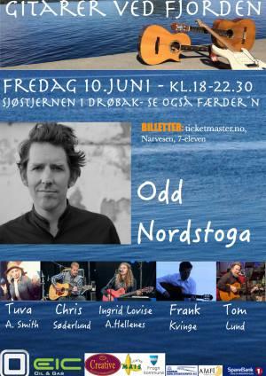 Gitarer ved fjorden @ Café Sjøstjernen i Drøbak | Drøbak | Akershus | Norge