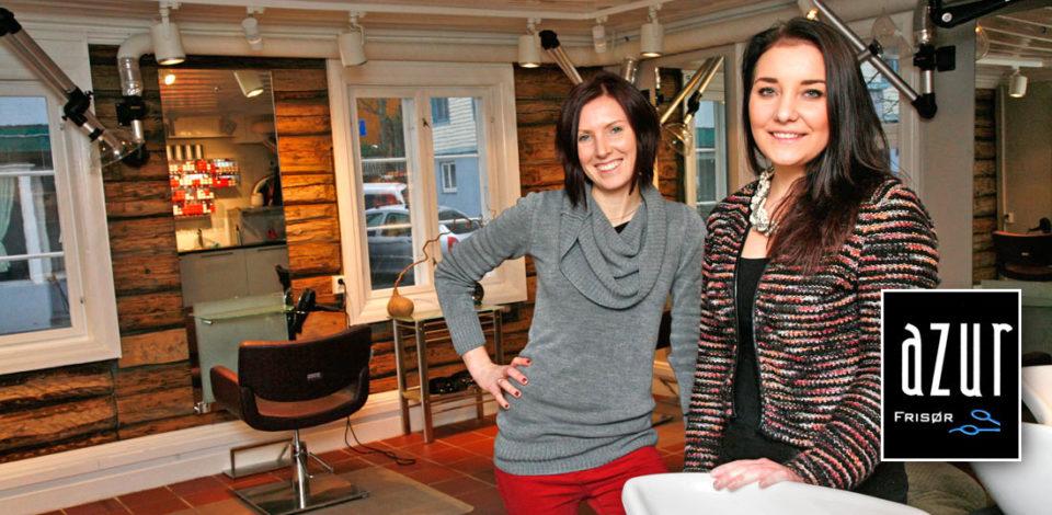 Anette Haugerud Røst og Viktoria Magnusson ønsker velkommen til AZUR.