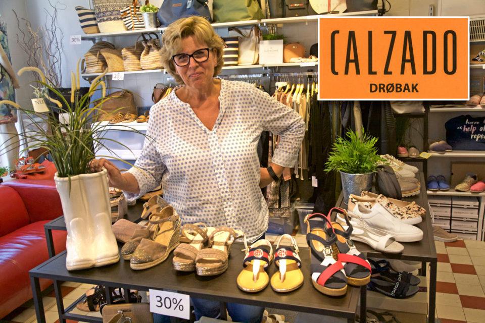 Kari Mette Rolfsen driver Calzado, en profilert kvalitetsbutikk i Niels Carlsens gate 6.