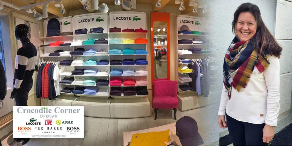 Eileen Tretli driver den stilsikre merkevarebutikken Crocodile Corner i Torggata 2.