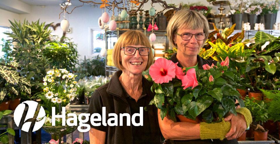 Helena Sundkvist Grude og Toril Skog hjelper deg med å finne de rette blomstene og plantene til alle anledninger.
