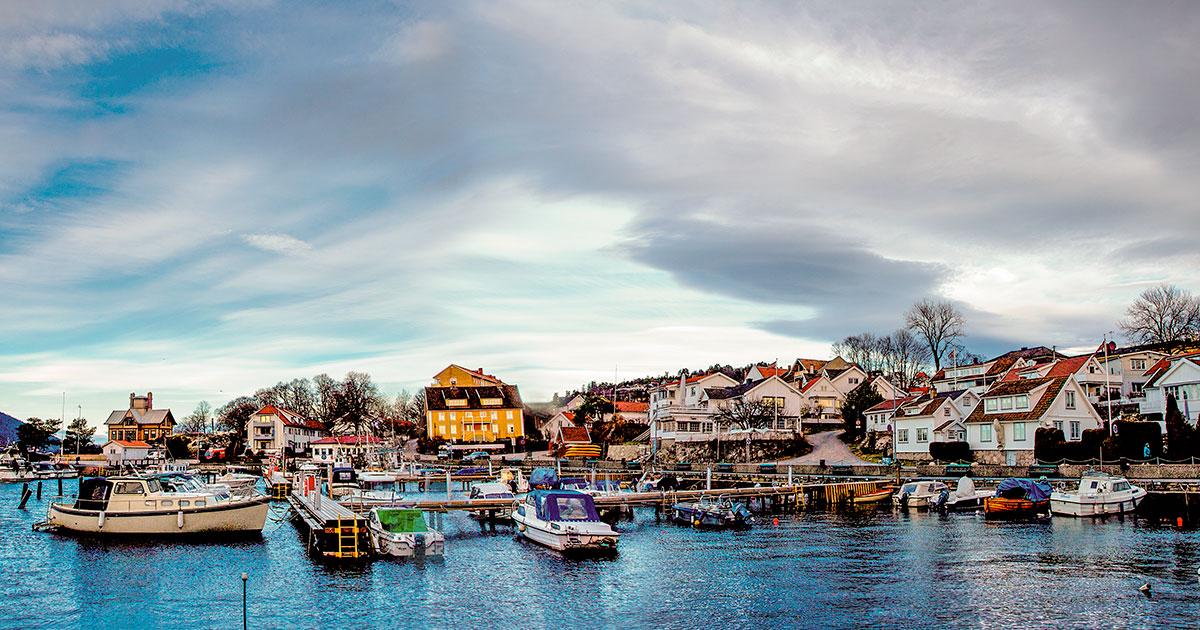 Drøbak Boat Harbor