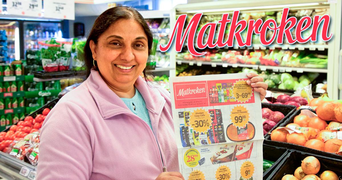 Matkroken - Lebensmittelgeschäft und Post