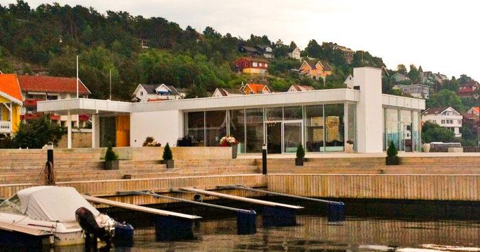 Sjøstjernen - restaurant rett i sjøkanten