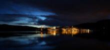Oscarsborg i solnedgang - Foto: Roy Hansen